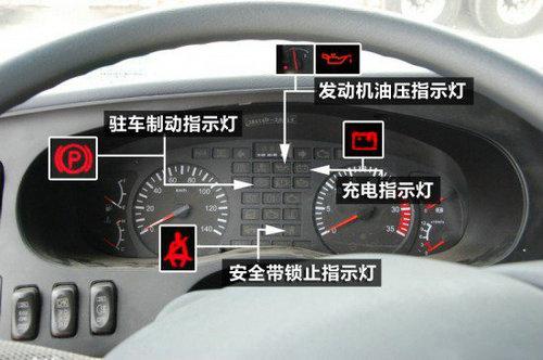 3,洒水车机油指示灯         该指示灯用来显示发动机内机油的